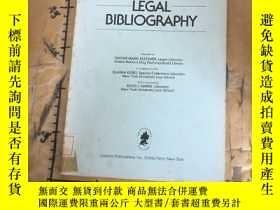 二手書博民逛書店International罕見legal bibliograph