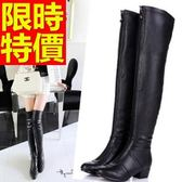 過膝馬靴-耀眼經典皮革女長靴62l40【巴黎精品】