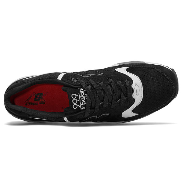 New Balance 999 男鞋 女鞋 休閒 美國製 皮革 舒適 黑 白【運動世界】M999CRK