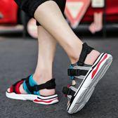 夏季拖鞋男韓版潮沙灘涼鞋時尚=防滑休閒涼拖鞋    傑克型男館