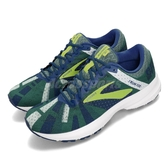 Brooks 慢跑鞋 Launch 6 藍 黃 輕量透氣 避震支撐 男鞋 運動鞋【ACS】 1102971D442