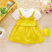 連身裙嬰兒裙子夏0-2小女童洋裝春夏兒童公主裙1-3一歲女寶寶夏裝限時7折起,最後一天