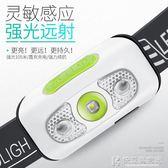 手電筒MENGMAKJ感應頭燈強光充電超亮頭戴式夜釣燈釣魚燈 igo快意購物網