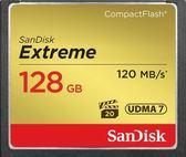 【聖影數位】SanDisk Extreme CF 128GB 記憶卡 R:120MB W:85MB 800X UDMA7 公司貨
