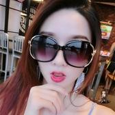 太陽鏡 新款女圓臉防紫外線墨鏡韓版潮流高清開車百搭墨鏡 4色 交換禮物