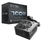 EVGA 艾維克 700 W1 700W 白牌 80+ 單路+12V 電源供應器