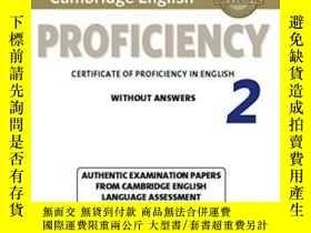 二手書博民逛書店Cambridge罕見English Proficiency 2 Student s Book Without A