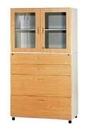 【 C . L 居家生活館 】F-214高級鋼木玻璃多層式書櫃(抽屜四層)/平滑美觀/收納便利