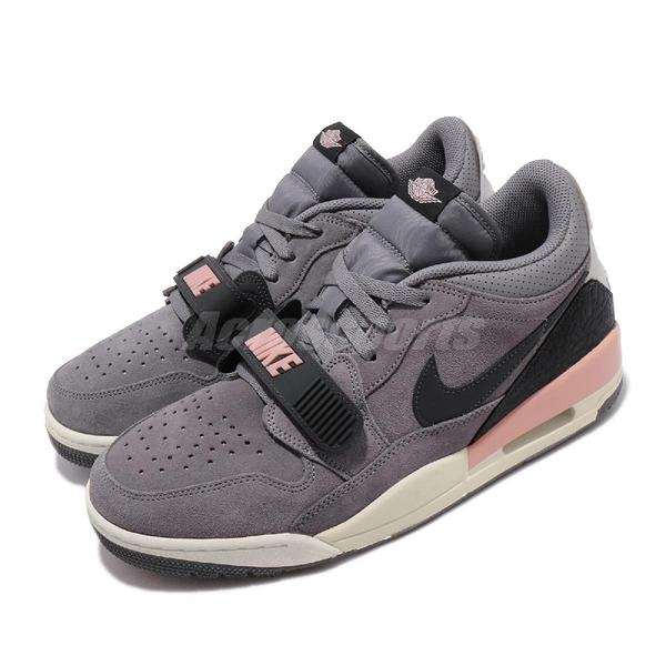 Nike Air Jordan Legacy 312 Low 灰 黑 粉 男鞋 籃球鞋 魔鬼氈 【PUMP306】 CD7069-002