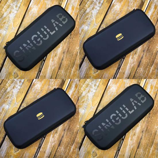 [哈GAME族]免運費 可刷卡●含保護貼+擦拭布●SINGULAB Switch NS EVA硬殼保護包 收納包 PU防水材質