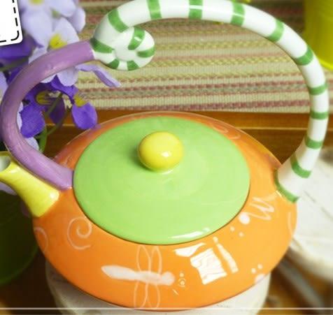 [協貿國際]  創意陶瓷茶壺
