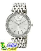 [美國直購] 女錶 XOXO Women s XO263 Analog Display Analog Quartz Silver Watch