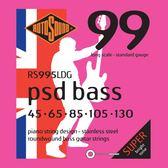 小叮噹的店 英國ROTOSOUND RS995LDG (45-130) 五弦貝斯弦 PSD Bass 99 旋弦公司貨