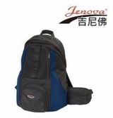 【】吉尼佛 jenova wind71 黑藍 追風系列雙肩後背包 附雨罩