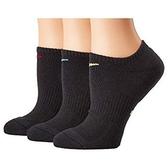 Nike耐吉- 女3包組無外現運動襪(黑色)