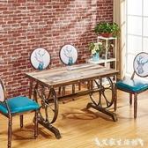 餐椅歐式美甲椅子靠背凳子復古椅子化妝椅鐵藝餐椅咖啡廳奶茶店桌椅 LX春季新品
