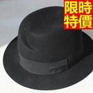 爵士帽小禮帽-新款羊毛呢正韓復古細緻百搭女帽子67e6【巴黎精品】