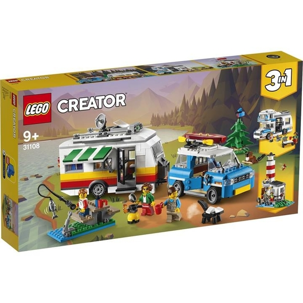 LEGO 樂高 31108大篷車家庭度假