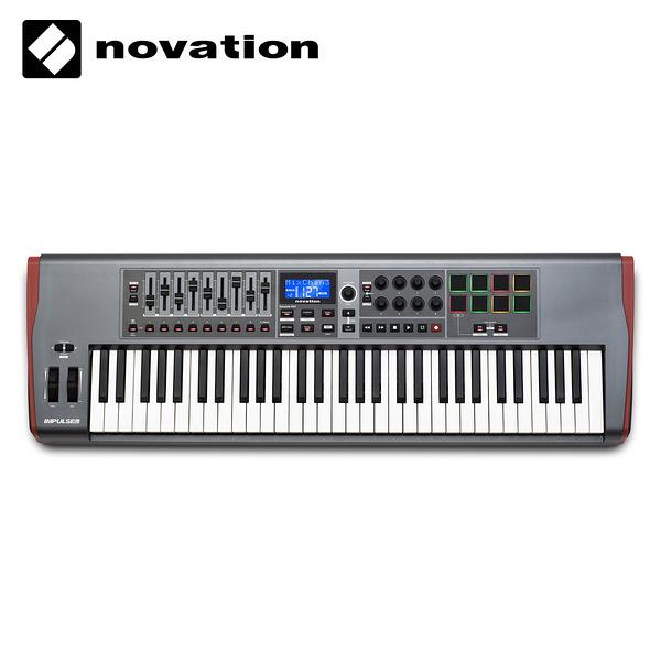 小叮噹的店- 61鍵 USB MIDI 主控鍵盤 Novation Impulse
