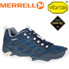 【MERRELL 美國 男款 MOAB FST GORE-TEX 登山健行鞋/深藍/灰/】ML598189/休閒鞋/健行/登山/運動鞋
