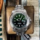 新款漸變復古雕花手錶男時尚潮流夜光防水石英錶個性休閑商務男錶 3C優購