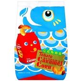 東鳩鯉魚旗版焦糖味玉米脆果80G【愛買】