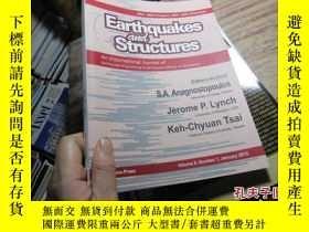 二手書博民逛書店earthquakes罕見and structures vol