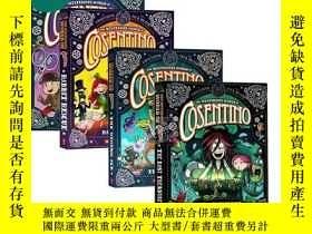 二手書博民逛書店The罕見Mysterious World of Cosentino 蒂諾的神秘世界1-4 橋梁初級章節書 中小學