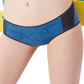 思薇爾-K.K Fit系列M-XL素面低腰平口內褲(瓷器藍)