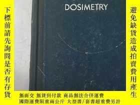 二手書博民逛書店radiation罕見dosimetry(H3259)Y1734