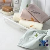 毛巾方巾速干兒童手帕吸水純棉洗臉家用可愛【古怪舍】