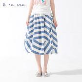 a la sha Qummi 造型綁帶不規則球狀長裙
