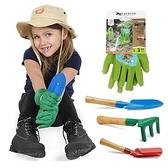 勞保手套 小孩兒童園藝小號橡膠手套戶外勞保防水膠皮拔河防滑倉鼠防咬 星河光年