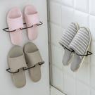 掛壁式立體鞋架 黏貼式 鐵藝鞋架 浴室 拖鞋架 鞋收納架 掛牆 不占位【J180】米菈生活館