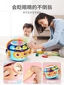 手拍鼓兒童不倒翁手拍鼓益智早教0-1歲嬰兒音樂拍拍鼓6個月寶寶玩具充電LX 小天使