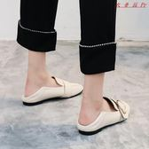 豆豆鞋女單鞋女平底英倫學院風小皮鞋