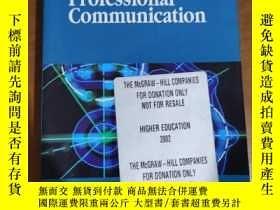 二手書博民逛書店Technical罕見Writing And Professional CommunicationY13244