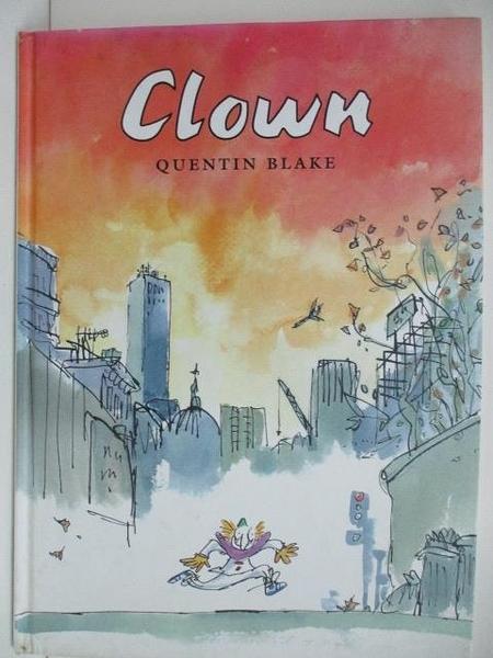 【書寶二手書T1/少年童書_DPT】Clown Quentin Blake