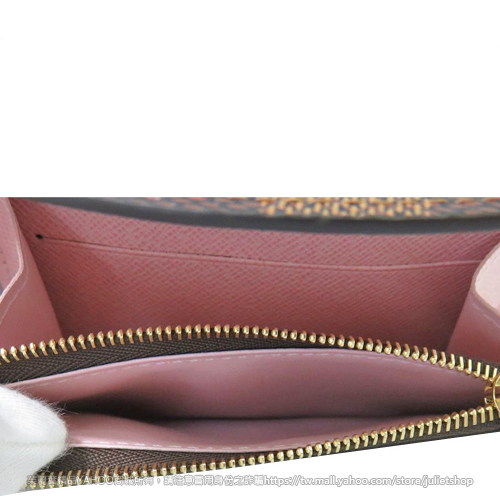 Louis Vuitton LV N64423 Rosalie 棋盤格紋信用卡零錢包 全新 預購【茱麗葉精品】