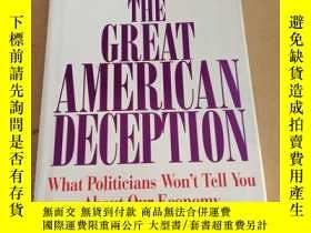 二手書博民逛書店Great罕見American Deception: What