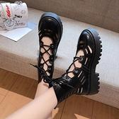 短靴 馬丁靴女夏季薄款百搭夏天鏤空涼鞋涼靴透氣機車短靴子-Ballet朵朵