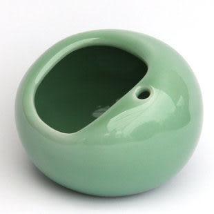 龍泉青瓷 創意時尚復古 防風鳥巢 陶瓷煙灰缸