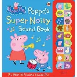 【粉紅豬小妹。大開本聲音書】PEPPAS SUPER NOISY SOUND BOOK