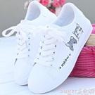 小白鞋運動鞋子女2020潮鞋新款百搭秋季小白鞋秋款學生板鞋女鞋白鞋 suger