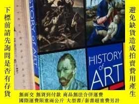 二手書博民逛書店英文原版罕見The HISTORY OF ART painting from Giotto to the pres