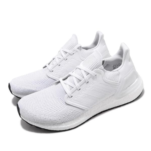 adidas 慢跑鞋 UltraBOOST 20 白 男鞋 運動鞋 【ACS】 EF1042