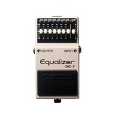 BOSS GE-7 等化效果器 【Equalizer/GE7/EQ/電吉他單顆效果器】