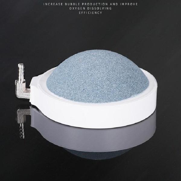 納米氣泡石SG755 氧氣泵氣泡石氣磐石氣餅靜音納米氣石魚缸增氧泵配件極細霧化氣盤