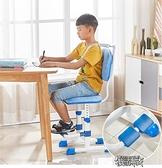 學習椅學習椅坐姿可調節升降家用學生椅子靠背寫字椅書桌椅座椅~  ~