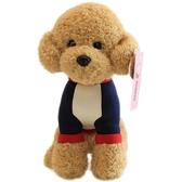 可愛泰迪狗毛絨玩具仿真狗狗公仔 小狗布娃娃少女心玩偶兒童女生【快速出貨】